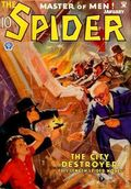 Spider (1933-1943 Popular Publications) Pulp Jan 1935