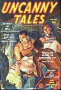 Uncanny Tales (1939-1940 Manvis Publications) Pulp Vol. 2 #6