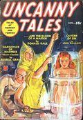 Uncanny Tales (1939-1940 Manvis Publications) Pulp Vol. 3 #1