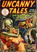 Uncanny Tales (1939-1940 Manvis Publications) Pulp Vol. 3 #2