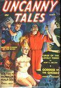 Uncanny Tales (1939-1940 Manvis Publications) Pulp Vol. 3 #3