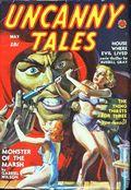 Uncanny Tales (1939-1940 Manvis Publications) Pulp Vol. 3 #4