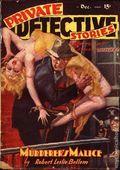 Private Detective Stories (1937-1950 Trojan Publishing) Pulp Vol. 2 #1