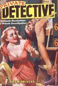Private Detective Stories (1937-1950 Trojan Publishing) Pulp Vol. 3 #1