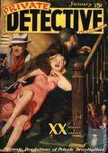 Private Detective Stories (1937-1950 Trojan Publishing) Pulp Vol. 6 #2