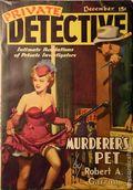 Private Detective Stories (1937-1950 Trojan Publishing) Pulp Vol. 8 #1