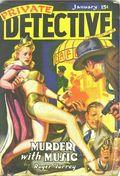 Private Detective Stories (1937-1950 Trojan Publishing) Pulp Vol. 10 #2