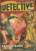 Private Detective Stories (1937-1950 Trojan Publishing) Pulp Vol. 11 #1