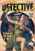 Private Detective Stories (1937-1950 Trojan Publishing) Pulp Vol. 11 #3