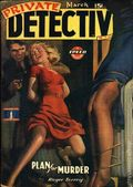 Private Detective Stories (1937-1950 Trojan Publishing) Pulp Mar 1943