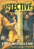 Private Detective Stories (1937-1950 Trojan Publishing) Pulp Vol. 13 #1