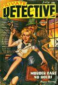 Private Detective Stories (1937-1950 Trojan Publishing) Pulp Vol. 13 #2