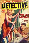 Private Detective Stories (1937-1950 Trojan Publishing) Pulp Vol. 14 #1
