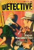 Private Detective Stories (1937-1950 Trojan Publishing) Pulp Vol. 14 #4