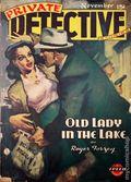 Private Detective Stories (1937-1950 Trojan Publishing) Pulp Vol. 15 #6