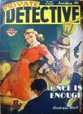Private Detective Stories (1937-1950 Trojan Publishing) Pulp Vol. 18 #2