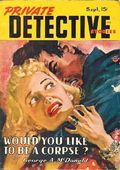 Private Detective Stories (1937-1950 Trojan Publishing) Pulp Sep 1946