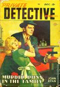 Private Detective Stories (1937-1950 Trojan Publishing) Pulp Vol. 19 #3
