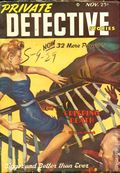 Private Detective Stories (1937-1950 Trojan Publishing) Pulp Vol. 20 #6