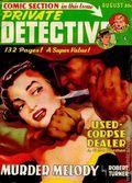 Private Detective Stories (1937-1950 Trojan Publishing) Pulp Vol. 22 #6