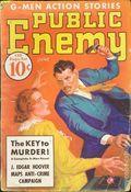 Public Enemy (1935-1936 Dell) Pulp Vol. 1 #6