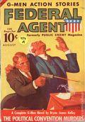 Federal Agent (1936-1937 Dell) Pulp Vol. 2 #1