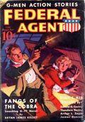 Federal Agent (1936-1937 Dell) Pulp Vol. 2 #3
