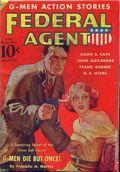 Federal Agent (1936-1937 Dell) Pulp Vol. 3 #1