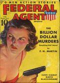 Federal Agent (1936-1937 Dell) Pulp Vol. 4 #1