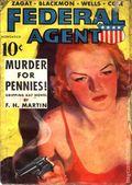 Federal Agent (1936-1937 Dell) Pulp Vol. 4 #2