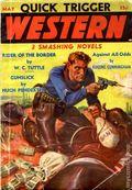 Quick Trigger Western Novels Magazine (1936-1939 Quick Trigger) Pulp Vol. 1 #1