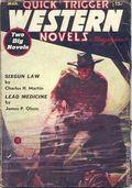 Quick Trigger Western Novels Magazine (1936-1939 Quick Trigger) Pulp Vol. 1 #4