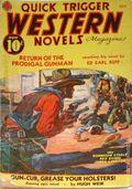 Quick Trigger Western Novels Magazine (1936-1939 Quick Trigger) Pulp Vol. 3 #1