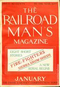 Railroad Man's Magazine (1906-1919 Frank A. Munsey) Pulp 1st Series Vol. 1 #4