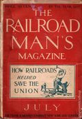 Railroad Man's Magazine (1906-1919 Frank A. Munsey) Pulp 1st Series Vol. 9 #2