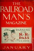 Railroad Man's Magazine (1906-1919 Frank A. Munsey) Pulp 1st Series Vol. 10 #4