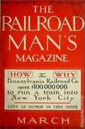 Railroad Man's Magazine (1906-1919 Frank A. Munsey) Pulp 1st Series Vol. 11 #2