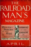 Railroad Man's Magazine (1906-1919 Frank A. Munsey) Pulp 1st Series Vol. 11 #3
