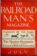 Railroad Man's Magazine (1906-1919 Frank A. Munsey) Pulp 1st Series Vol. 12 #2