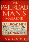 Railroad Man's Magazine (1906-1919 Frank A. Munsey) Pulp 1st Series Vol. 12 #3