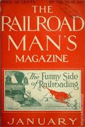 Railroad Man's Magazine (1906-1919 Frank A. Munsey) Pulp 1st Series Vol. 13 #4