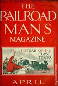 Railroad Man's Magazine (1906-1919 Frank A. Munsey) Pulp 1st Series Vol. 14 #3