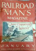 Railroad Man's Magazine (1906-1919 Frank A. Munsey) Pulp 1st Series Vol. 16 #4