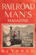 Railroad Man's Magazine (1906-1919 Frank A. Munsey) Pulp 1st Series Vol. 19 #1