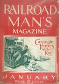 Railroad Man's Magazine (1906-1919 Frank A. Munsey) Pulp 1st Series Vol. 19 #4