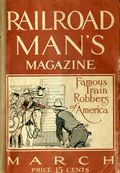 Railroad Man's Magazine (1906-1919 Frank A. Munsey) Pulp 1st Series Vol. 20 #2