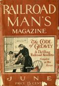 Railroad Man's Magazine (1906-1919 Frank A. Munsey) Pulp 1st Series Vol. 21 #1
