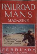 Railroad Man's Magazine (1906-1919 Frank A. Munsey) Pulp 1st Series Vol. 23 #2