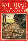 Railroad Man's Magazine (1906-1919 Frank A. Munsey) Pulp 1st Series Vol. 32 #4