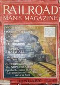Railroad Man's Magazine (1906-1919 Frank A. Munsey) Pulp 1st Series Vol. 35 #1